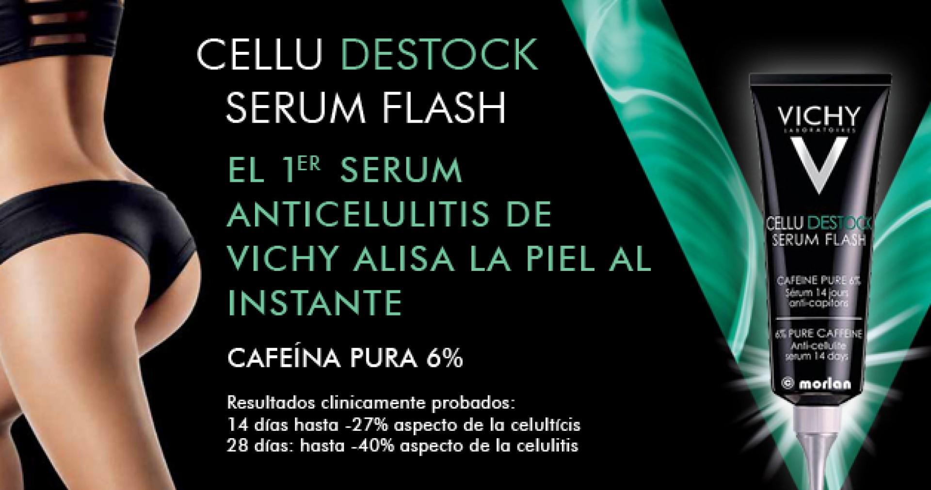 Cellu destock serum flash