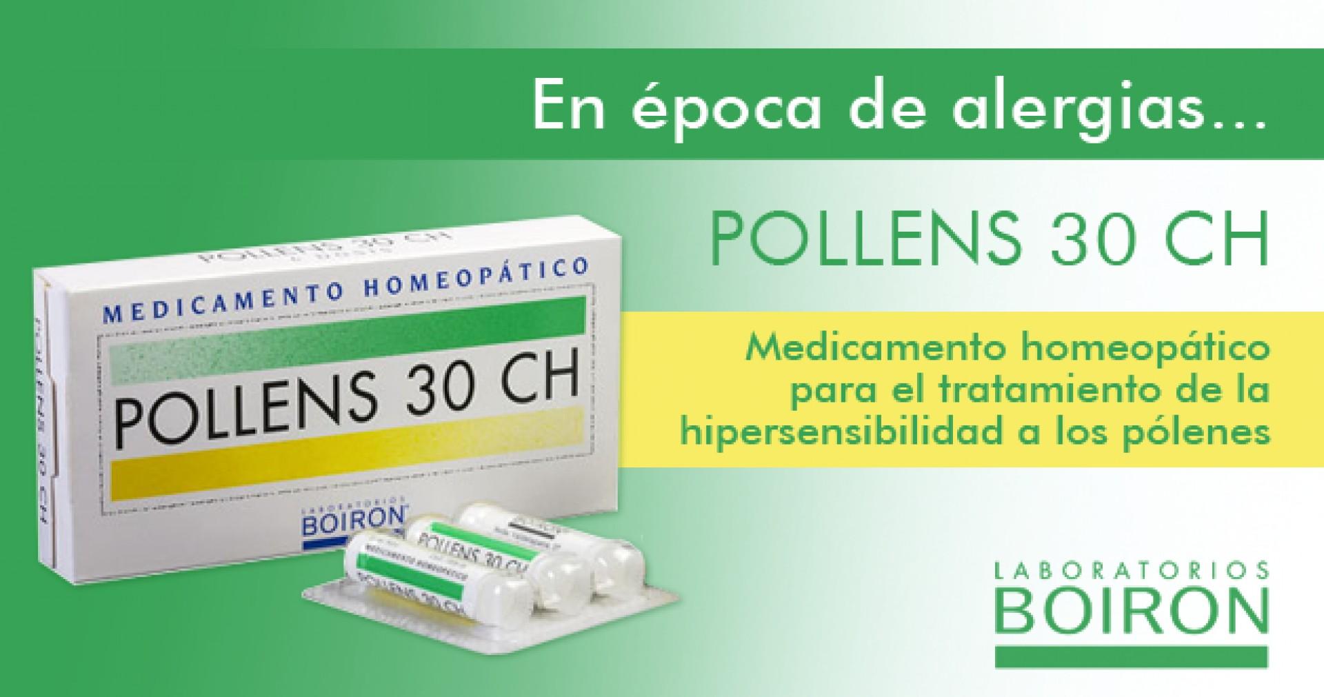Pollens 30 CH