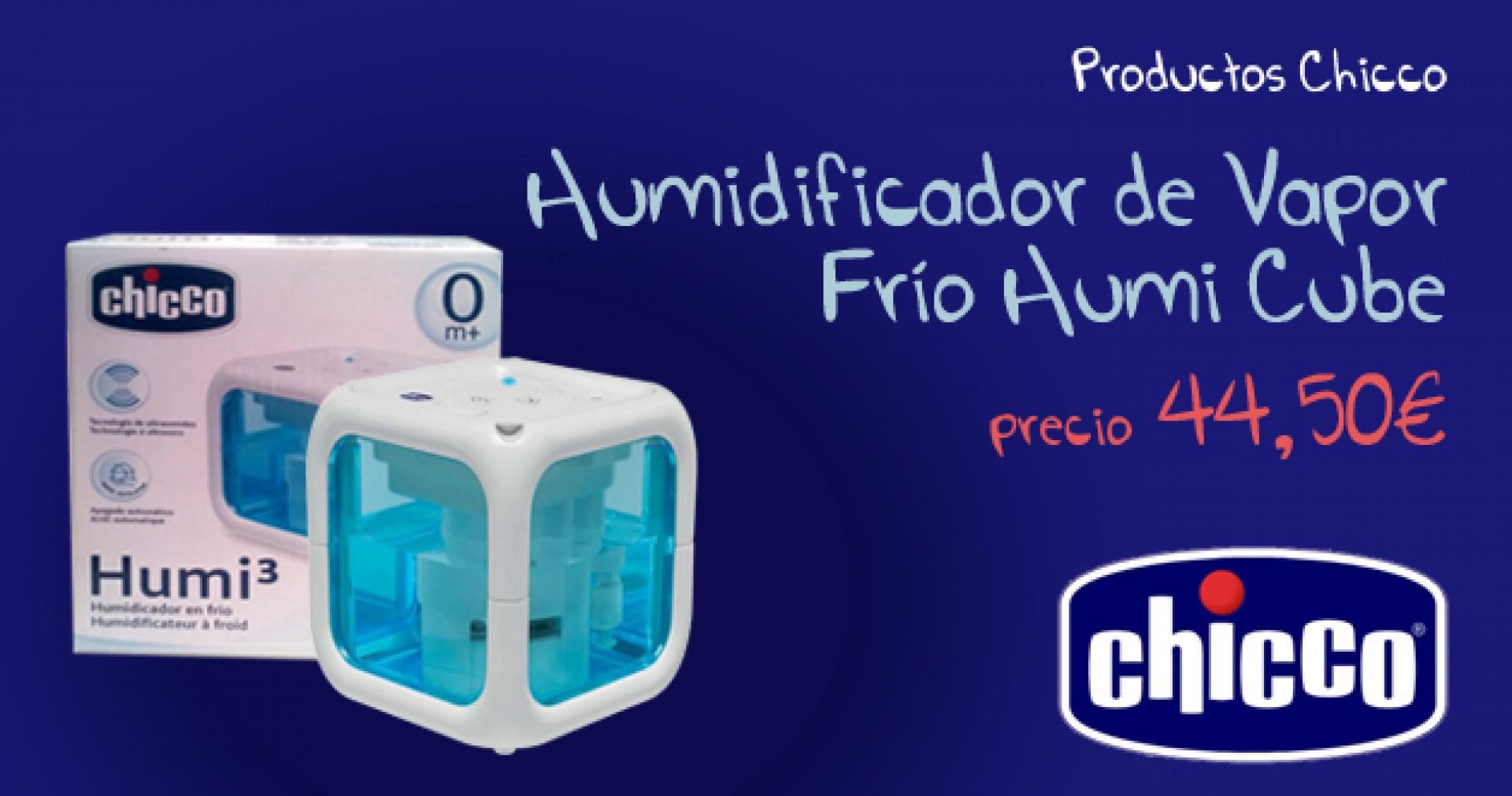 Humidificador de vapor frío Humi Cube chicco
