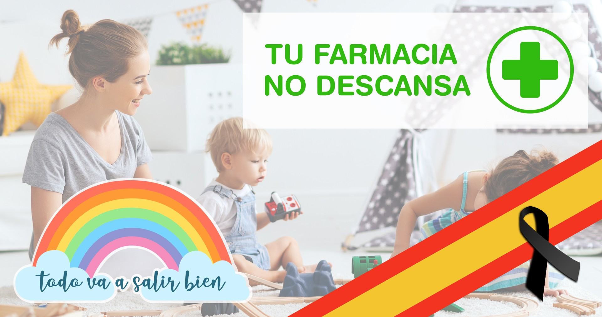 Tu farmacia no descansa