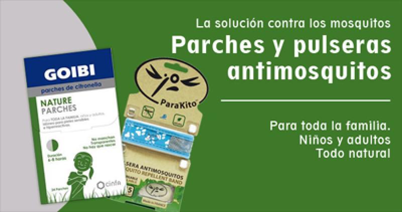 imagen de Parches y pulseras antimosquitos