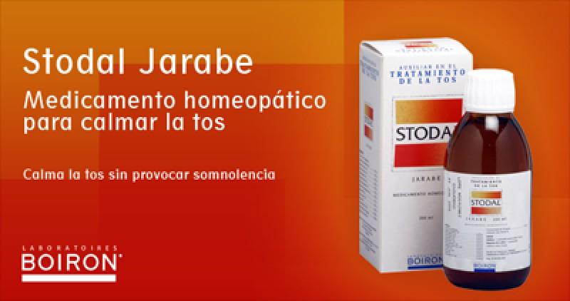 imagen de Stodal (Boiron), para tratar la tos sin provocar somnolencia