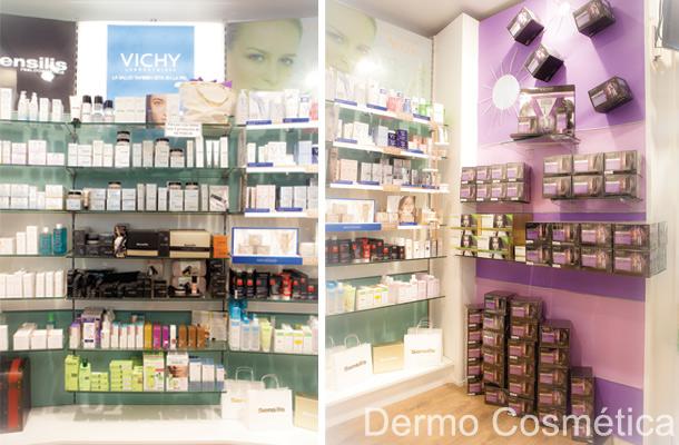Área especializada dermo cosmética Farmacia Marina - Ortopedia García Caudevilla . Zaragoza