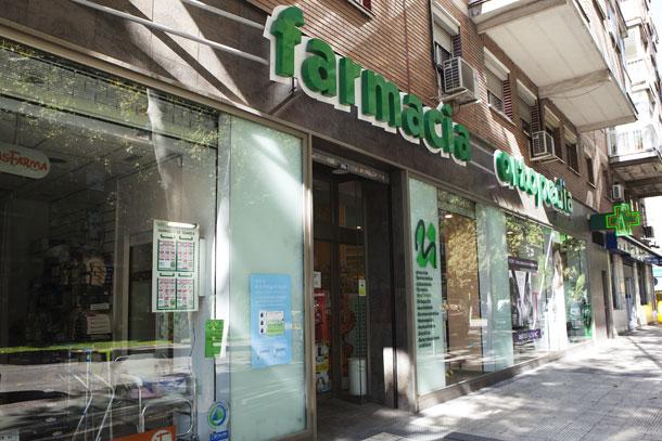 Fotografía de la fachada de Farmacia - Ortopedia García Caudevilla